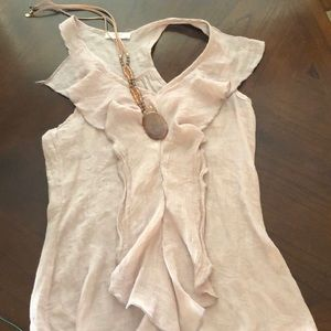 Poetry linen type blouse
